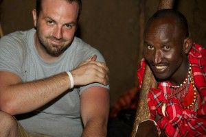 On Safari: A Masai Prince and I